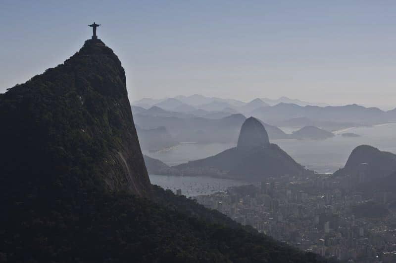 Foto aérea do Rio de Janeiro, no banco de imagens Fotografias Aéreas. Cliente 2Aces.