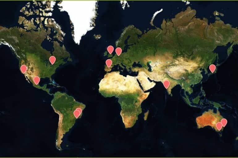Mapa Interativo: seleção de festivais de fotografia no primeiro